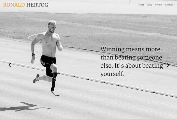 Ronald Hertog – Paralympisch Sporter
